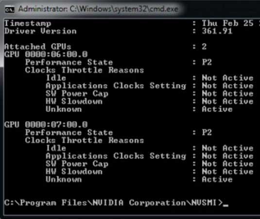 nvidia system management interface